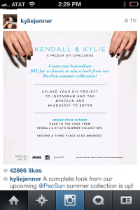 Kylie Kendall Jenner Contest