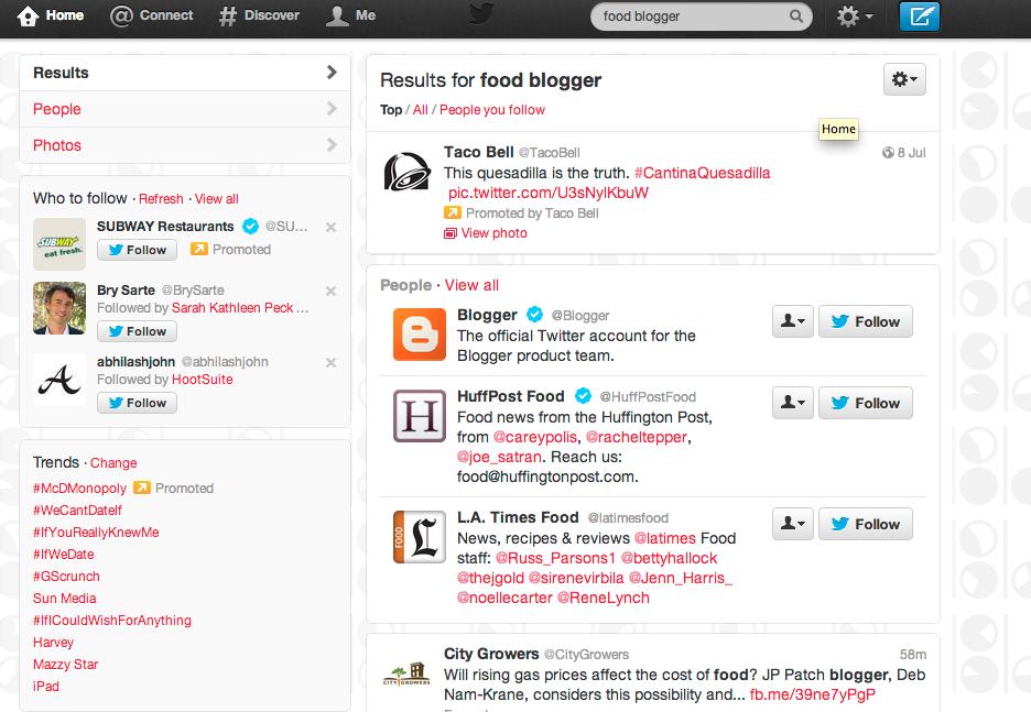 TwitterSearchResults