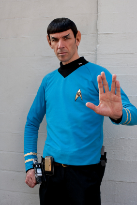 Spock Impersonator 2