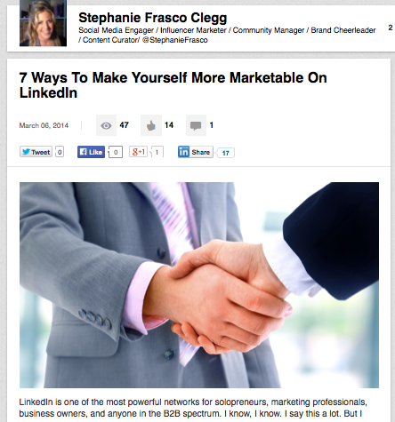 How To Use LinkedIn Publishing Platform