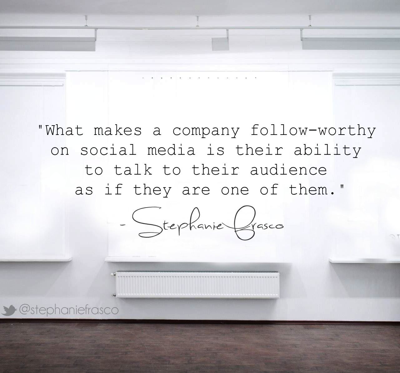 How to talk more authentically to your audience
