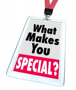 What's So Special About Your Business?