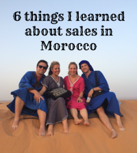 What The Souks Of Morocco Taught Me About Online Sales