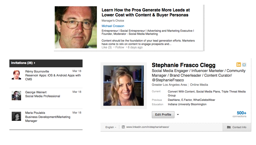 LinkedIn For Lead Generation Profile Basics