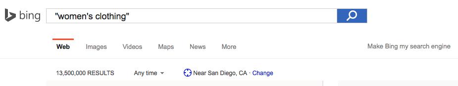 Bing Keyword Research