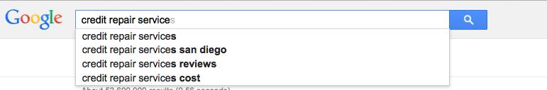 Suggestive Keyword Research