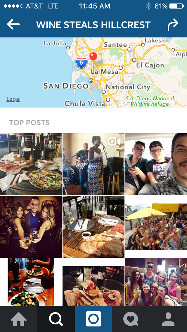Search Instagram by Location