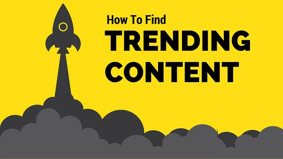 5 Places To Find Trending Content